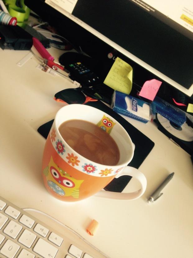 Nach vier Tagen Berlin hilft hier nur noch die große Tasse Cafe